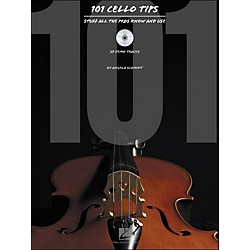 Hal Leonard 101 Cello Tips - Stuff All The Pros Know And Use Book/CD (842172)