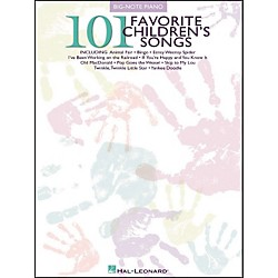 Hal Leonard 101 Favorite Children's Songs For Big Note Piano (310779)