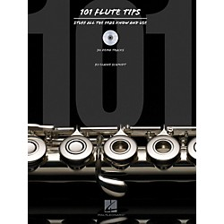 Hal Leonard 101 Flute Tips - Stuff All The Pros Know And Use Book/CD (119883)