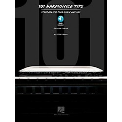 Hal Leonard 101 Harmonica Tips - Stuff All The Pros Know And Use (Book/CD) (821040)