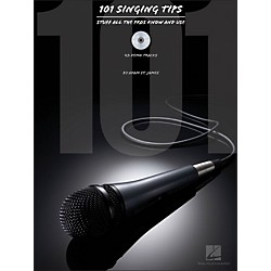 Hal Leonard 101 Singing Tips - Stuff All The Pros Know & Use Book/CD (740308)