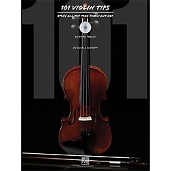 Hal Leonard 101 Violin Tips - Stuff All The Pros Know And Use Book/CD (842672)