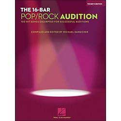 Hal Leonard 16 Bar Pop/Rock Audition Women's Edition (1215)