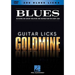 Hal Leonard 200 Blues Licks - Guitar Licks Goldmine DVD series (320929)