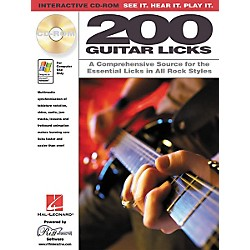 Hal Leonard 200 Guitar Licks (CD-ROM) (451071)