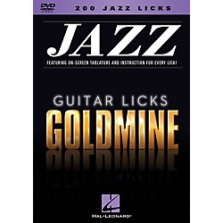 Hal Leonard 200 Jazz Licks - Guitar Licks Goldmine DVD series (320931)