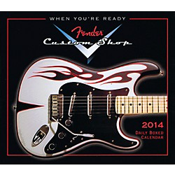 Hal Leonard 2014 Fender Custom Shop Daily Boxed Calendar (121648)