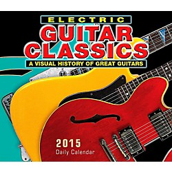 Hal Leonard 2015 Electric Guitar Classics Boxed Daily Calendar (125439)