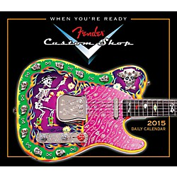 Hal Leonard 2015 Fender Custom Shop Boxed Daily Calendar (125440)