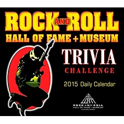 Hal Leonard 2015 Rock And Roll Hall Of Fame Trivia Challenge Daily Boxed Calendar (125441)