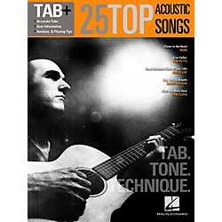 Hal Leonard 25 Top Acoustic Songs-Tab. Tone. Technique. (109283)