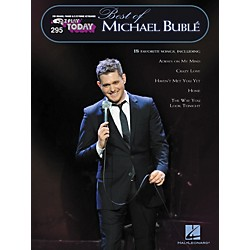 Hal Leonard 295 Best Of Michael Buble - E-Z Play Today Songbook (100303)
