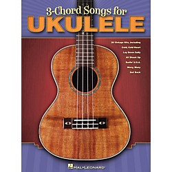 Hal Leonard 3-Chord Songs For Ukulele Songbook (701900)