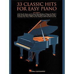 Hal Leonard 33 Classic Hits For Easy Piano (310393)