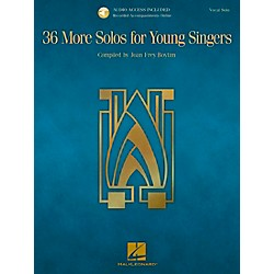 Hal Leonard 36 More Solos For Young Singers - Book/CD (230109)