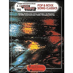Hal Leonard 40 Pop & Rock Song Classics E-Z Play 186 (101606)