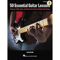 Hal Leonard 50 Essential Guitar Lessons (Book/CD) (696030)