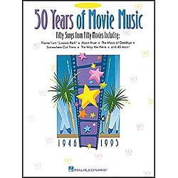Hal Leonard 50 Years Movie Music For Alto Sax (849024)