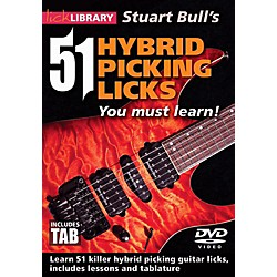 Hal Leonard 51 Hybrid Picking Licks You Must Learn - Lick Library DVD (125431)