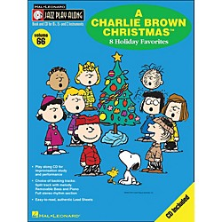 Hal Leonard A Charlie Brown Christmas - Jazz Play-Along Volume 66 BookCD (843067)