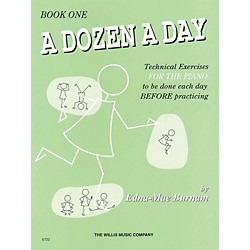 Hal Leonard A Dozen A Day Book 1 (Green cover) (413366)