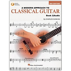 Hal Leonard A Modern Approach to Classical Guitar 2 (Book/CD) (695115)