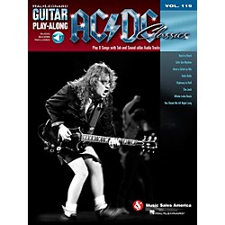 Hal Leonard AC/DC Classics - Guitar Play-Along Volume 119 (Book/CD) (701356)