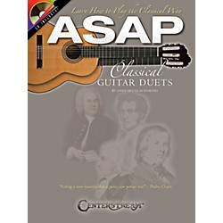 Hal Leonard ASAP Classical Guitar Duets Book/CD (103849)