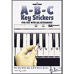 Hal Leonard Abc Keyboard Stickers (1009)