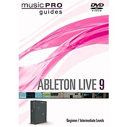 Hal Leonard Ableton Live 9 Beginner/Intermediate Level Music Pro Guide DVD (116771)