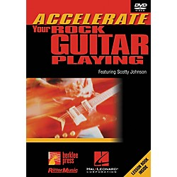 Hal Leonard Accelerate Your Rock Guitar Playing DVD (320587)
