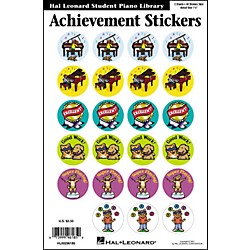 Hal Leonard Achievement Stickers Package Hal Leonard Student Piano Library (296185)