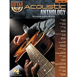 Hal Leonard Acoustic Anthology - Guitar Play-Along, Volume 80 (Book/CD) (700175)
