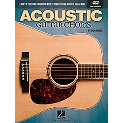 Hal Leonard Acoustic Guitar Chords Learn the Essential You Need Book & DVD (696484)