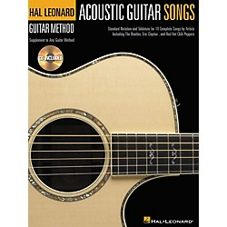 Hal Leonard Acoustic Guitar Songs Method Suppliment Book with CD (697384)