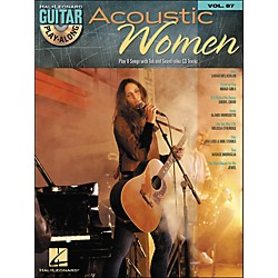 Hal Leonard Acoustic Women - Guitar Play-Along Volume 87 (Book/CD) (700763)