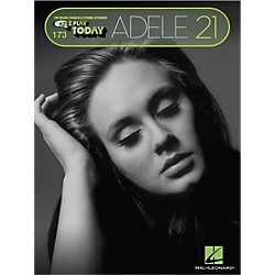 Hal Leonard Adele - 21 E-Z Play Today #173 Songbook (100321)