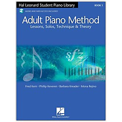 Hal Leonard Adult Piano Method Book 1 with CD (296441)
