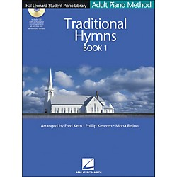 Hal Leonard Adult Piano Method Traditional Hymns Book 1 Book/CD Hal Leonard Student Piano Library (296782)