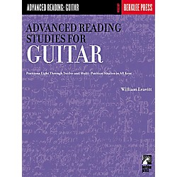 Hal Leonard Advanced Reading Studies for Guitar Book (50449500)