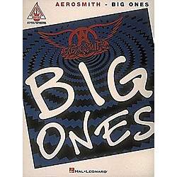 Hal Leonard Aerosmith Big Ones Guitar Tab Songbook (690002)