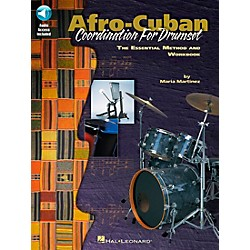 Hal Leonard Afro-Cuban Coordination for Drumset Book with CD (695328)