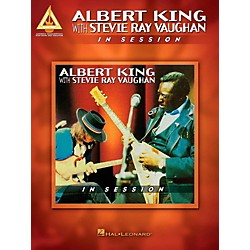 Hal Leonard Albert King With Stevie Ray Vaughan - In Session Guitar Tab Songbook (124869)