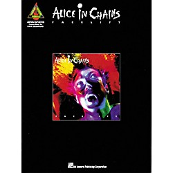 Hal Leonard Alice In Chains Facelift Guitar Tab Songbook (660225)