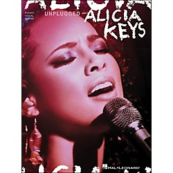 Hal Leonard Alicia Keys Unplugged arranged for piano, vocal, and guitar (P/V/G) (306768)