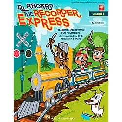 Hal Leonard All Aboard The Recorder Express - Seasonal Collection for Recorders, Volume 1 (Book/CD) (9970947)