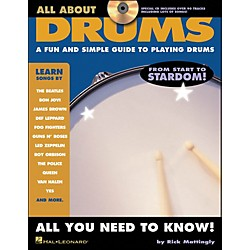 Hal Leonard All About Drums Book/CD Series (6620098)
