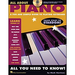 Hal Leonard All About Piano Book/CD Series (311298)