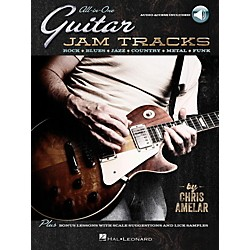 Hal Leonard All-In-One Guitar Jam Tracks - Book with Online Audio Tracks (123090)