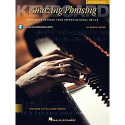 Hal Leonard Amazing Phrasing Book/CD Keyboard (842030)